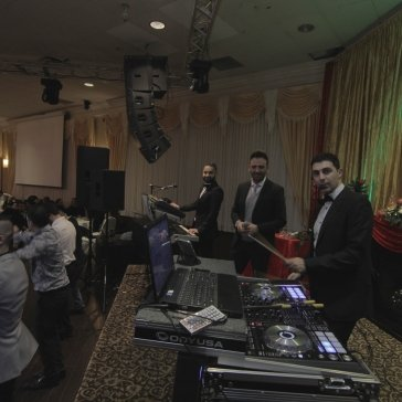 DJ Eddie Waad Kakos Iden Marko on Stage