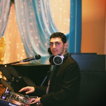 DJ Eddie at an Engagement Party