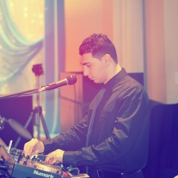 Drumming at an Engagement Party