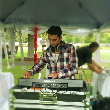 DJ Eddie at a Park