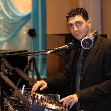 DJ Eddie at an Engagement