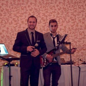 Alen Elias, Eddie, Sargon, & Edmon at a Wedding Party