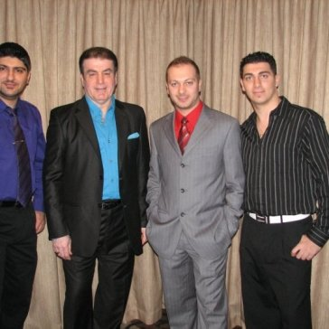 New Years with Singer George Elias, Alen Elias, Nabeel