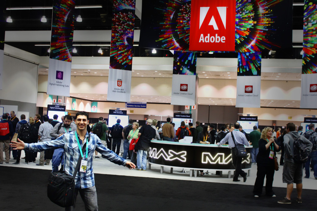 Eddie at Adobe Max 2013