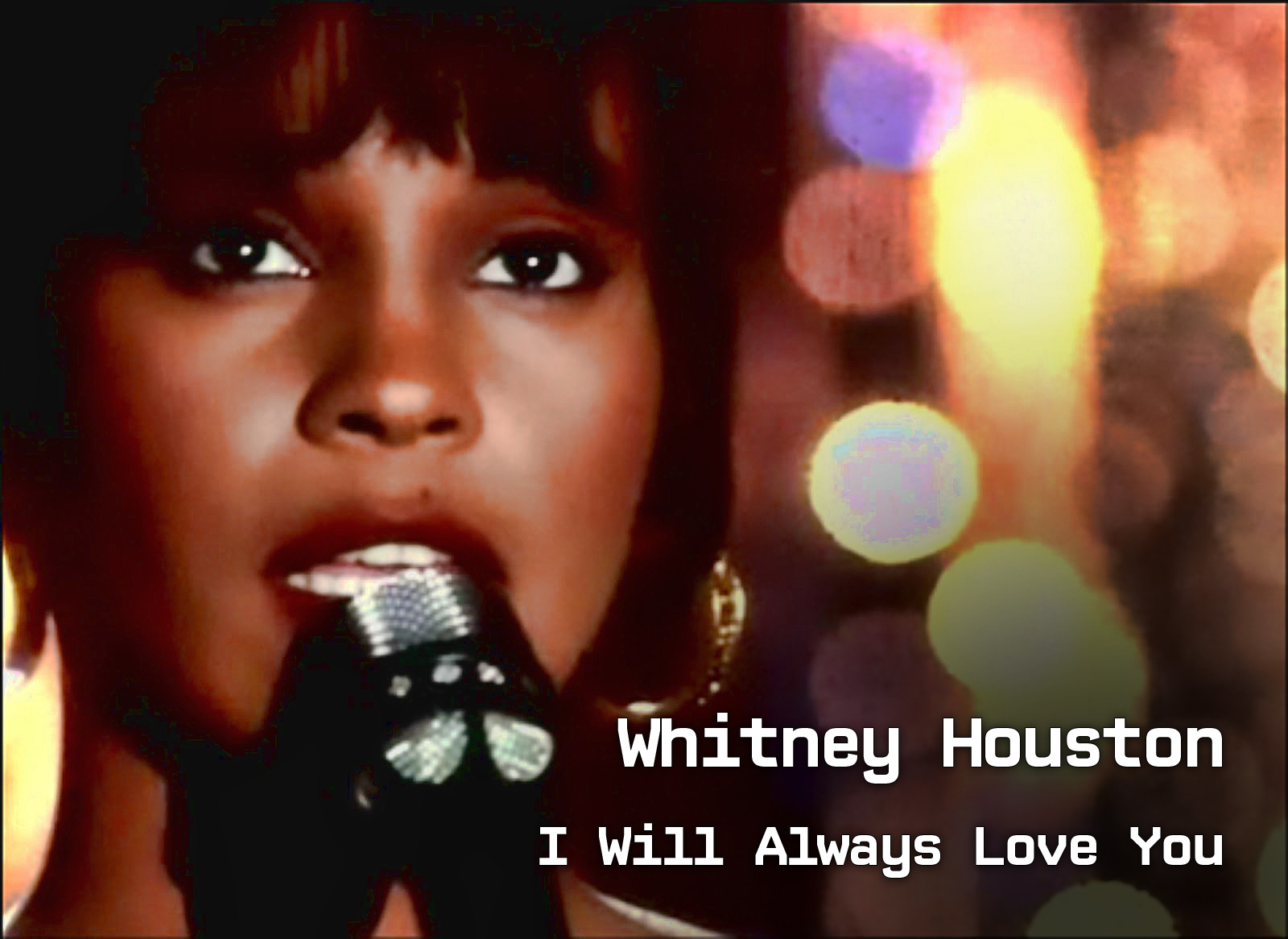 Weekly song Whitney Houston I will always love you - DJ Eddie