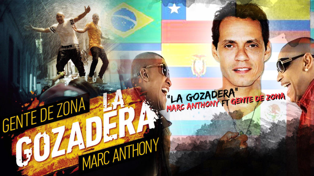 Gente De Zona ft. Marc Anthony - La Gozadera