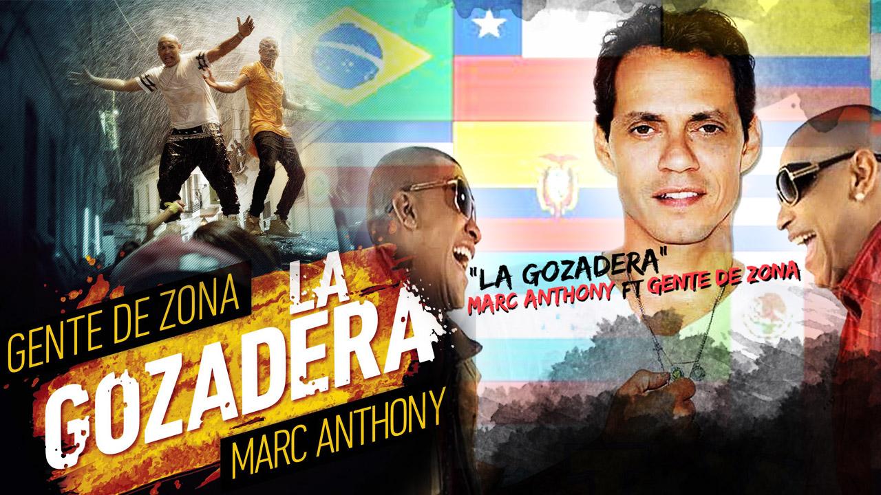 Gente De Zona - Marc Anthony - La Gozadera