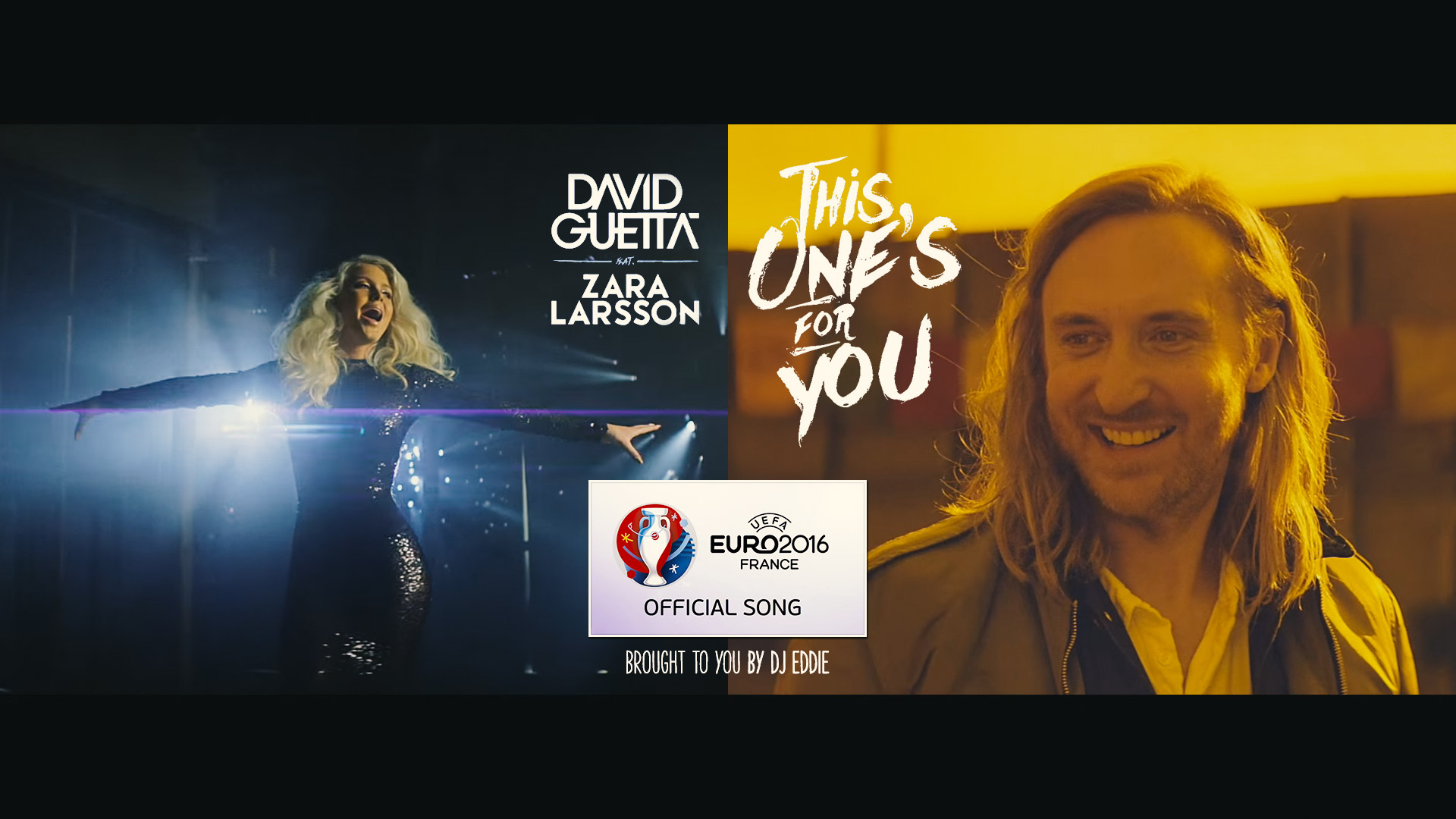 UEFA EURO 2016 Official Song by David Guetta ft. Zara Larsson - This One's For You