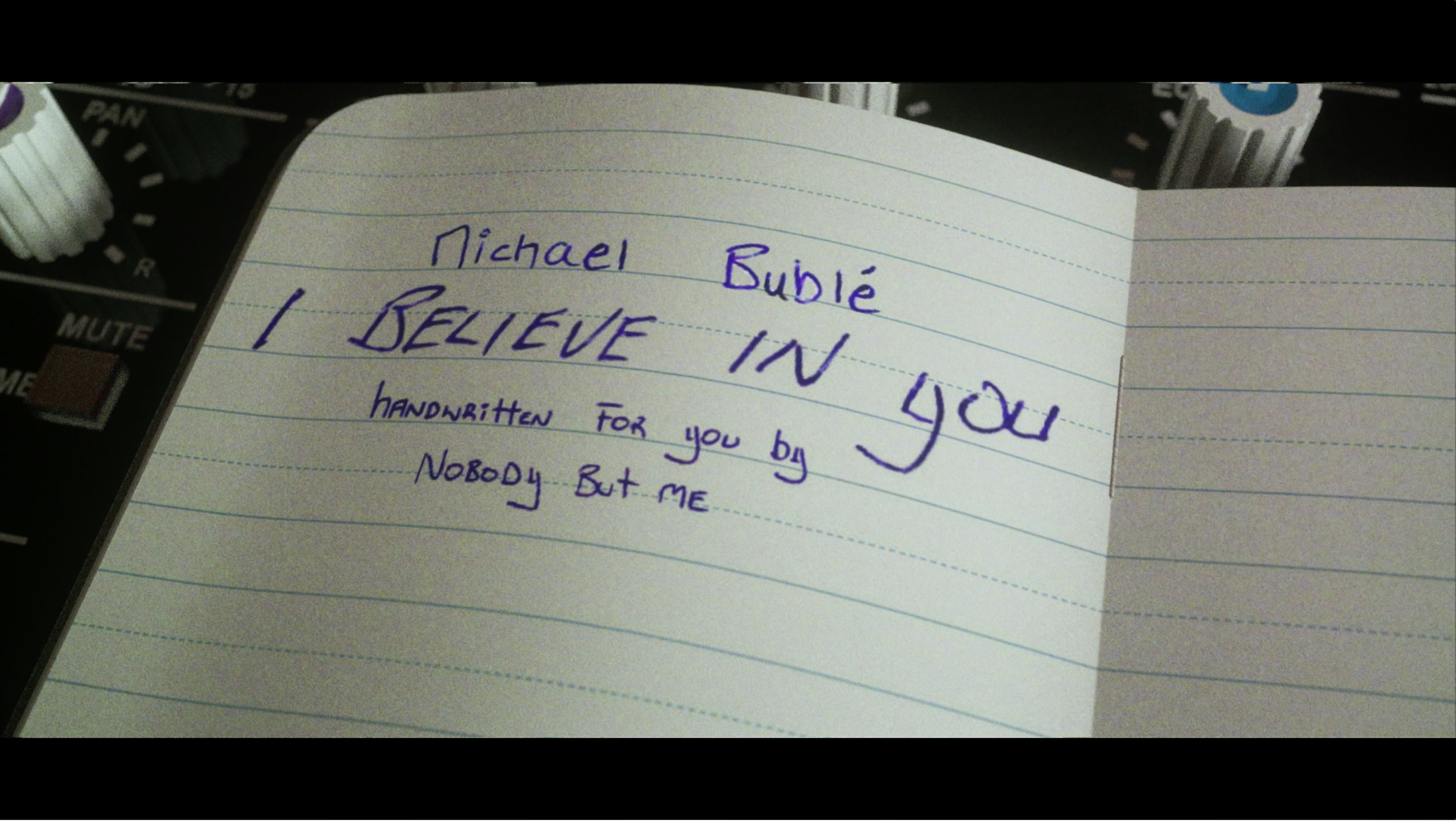 Michael Bublé – I Believe in You