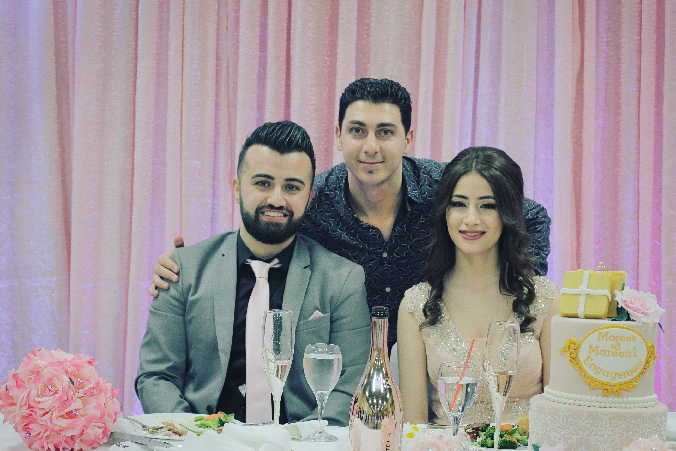 Congratulations Morees & Mareen on your engagement