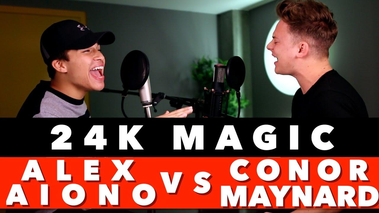 Bruno Mars - 24K Magic (SING OFF Conor Maynard vs. Alex Aiono)