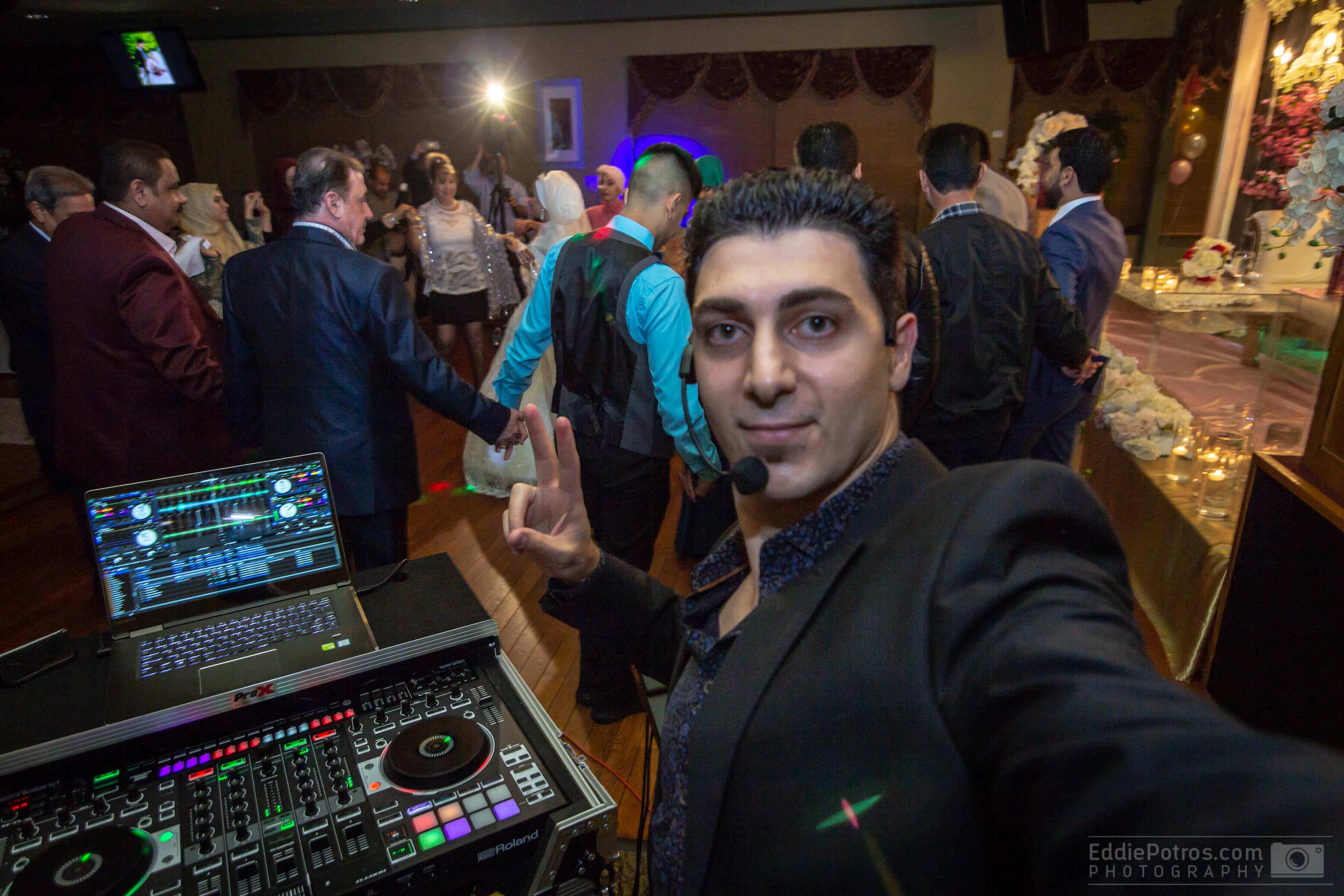 Congratulations Ahmad & Nehal on your Wedding - DJ Eddie