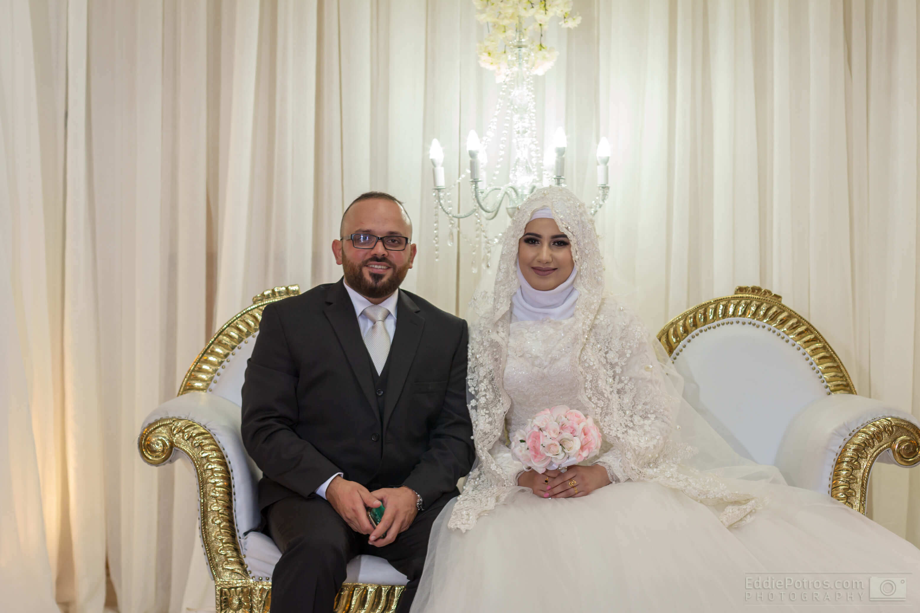 Congratulations Ahmad & Shahad on your Wedding - DJ Eddie