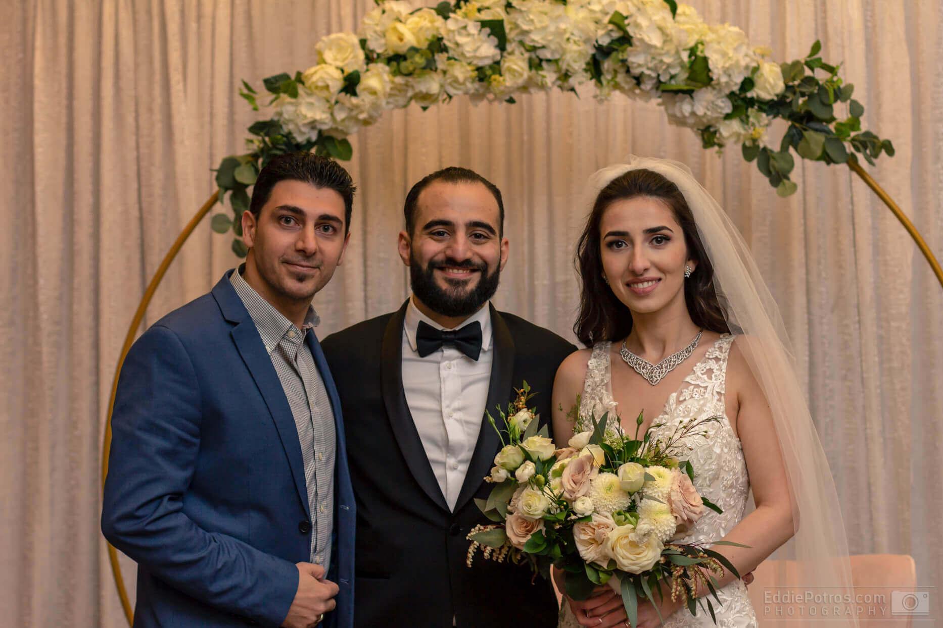 Congratulations Mazen & Hattaw on your Wedding