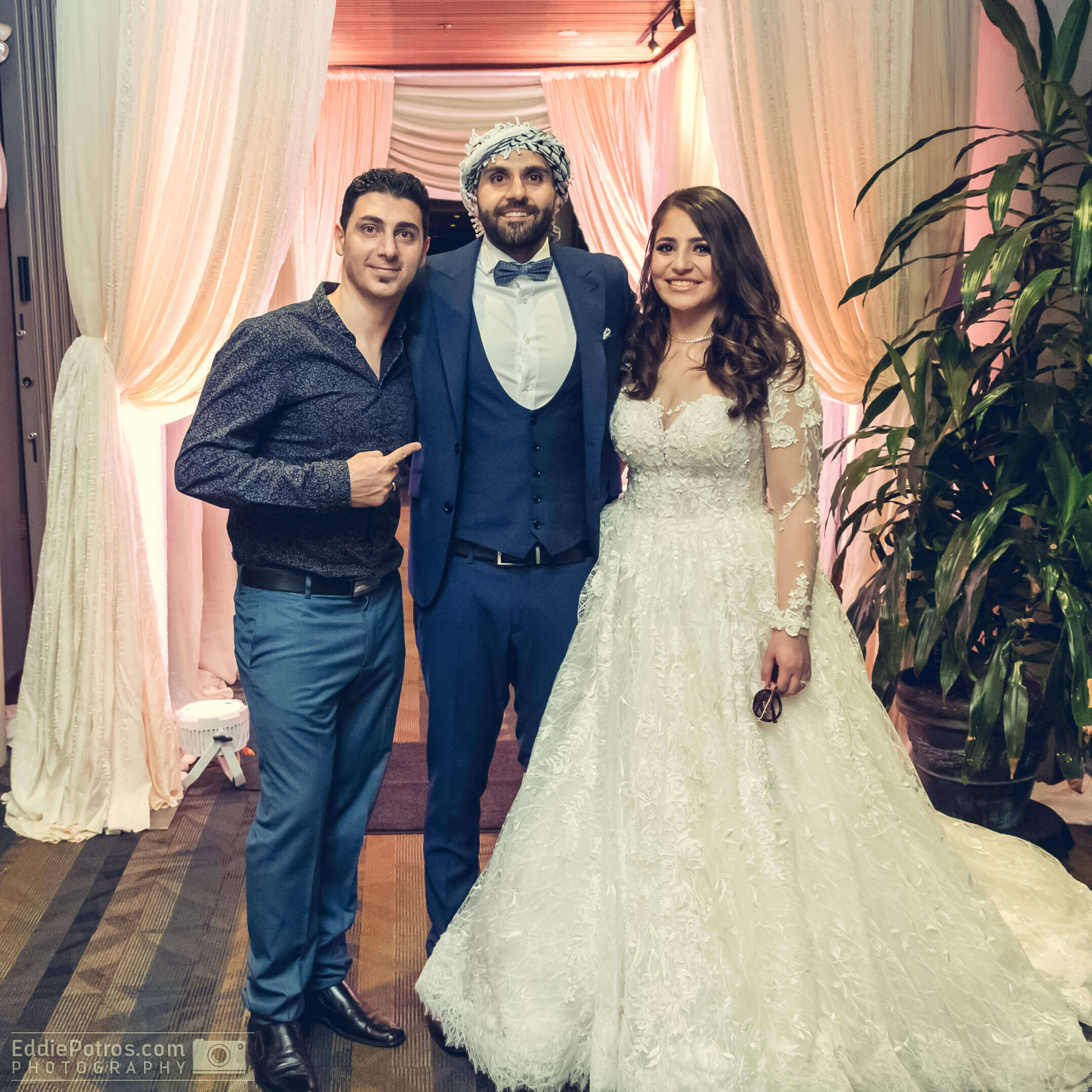 Congratulations Nejem & Rawan on your Wedding