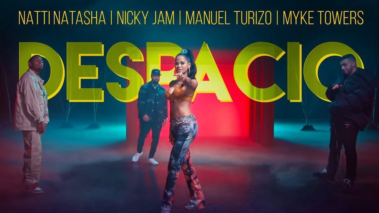 Natti Natasha, Nicky Jam, Manuel Turizo, Myke Towers - Despacio